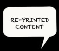 Re-Printed Content