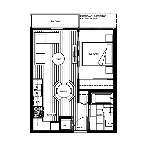 Micro Living See The Smallest New Condo Suites On The