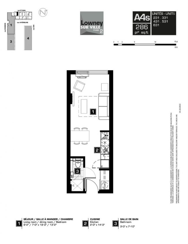 Micro living see the smallest new condo suites on the for Apartment plans canada