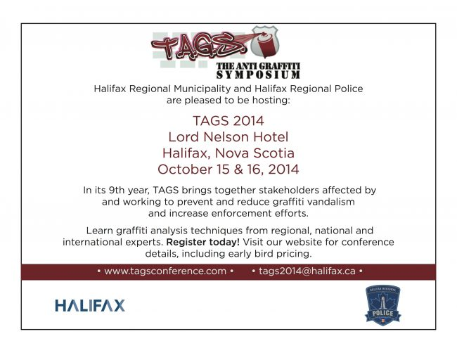 TAGS 2014 Registration Poster