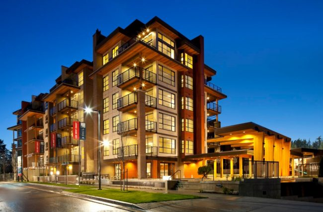 Sail is a six-storey wood-frame buildingat UBC by Adera Developments (pictured above). Photo:Adera/Facebook
