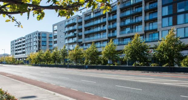 The 270 apartments at Rockbrook are opposite the Luas station in Sandyford.