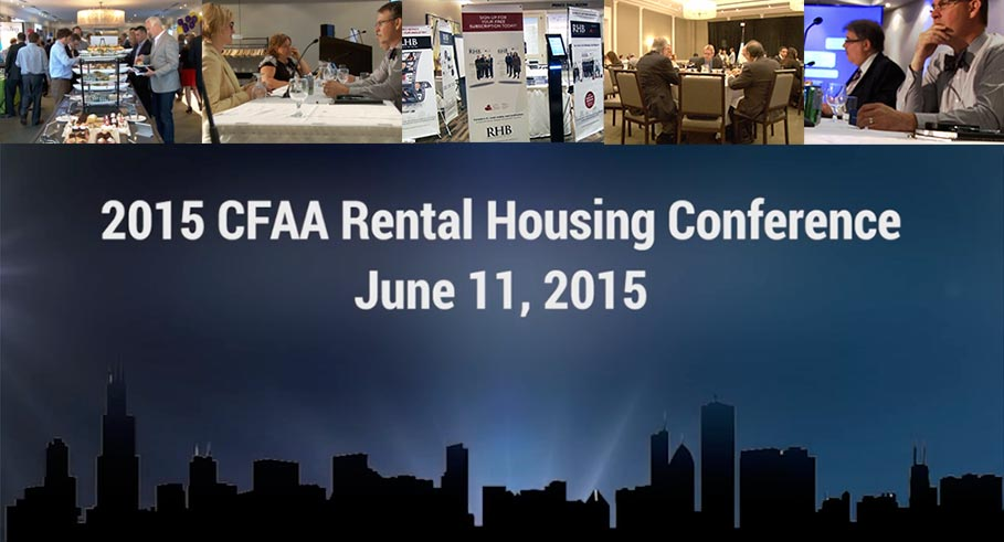 CFAA's Rental Housing Conference 2015 |  Building Retrofit Stream – June 11, 2015