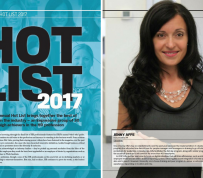 Jenny Affe, recognized by Human Resources Director Magazine