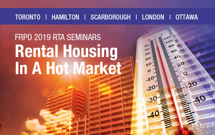 2019 Residential Tenancies Act Seminars