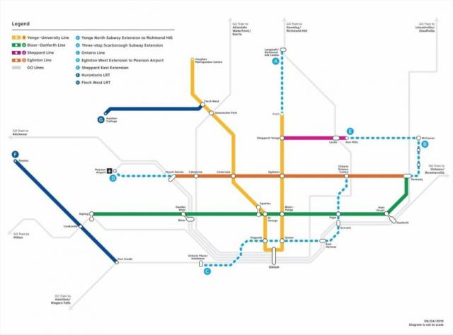 Ontario Government Lines Up New Toronto Transit Plan