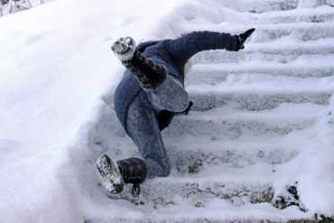SLIP AND FALLS: HOW TO LIMIT YOUR LIABILITY