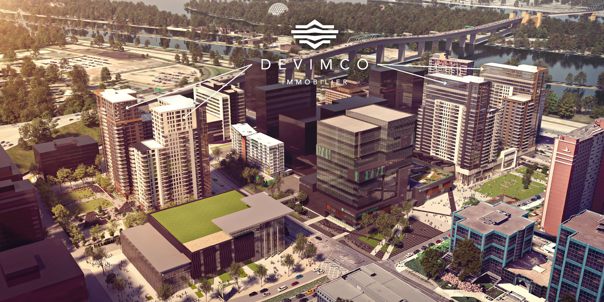 DEVIMCO TAKES AN IMPORTANT STEP IN COMPLETING A REVOLUTIONARY $500-MILLION PROJECT TAILORED TO TELEWORKING