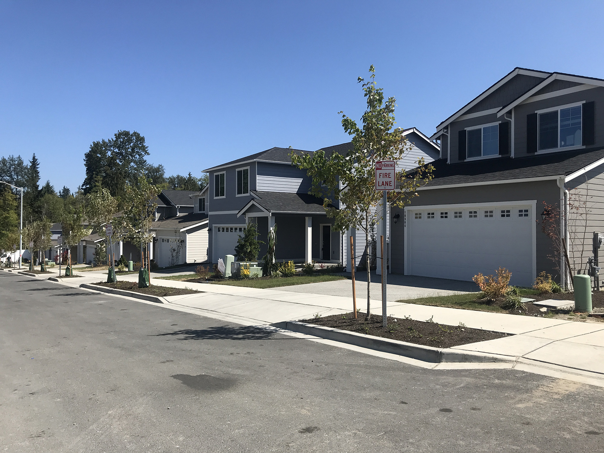 WALL STREET'S NEW SUBURBAN SUBDIVISION IS FULL OF RENTERS