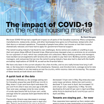Impact of COVID-19 on Rental Housing Market