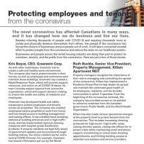 Protecting employees & tenants