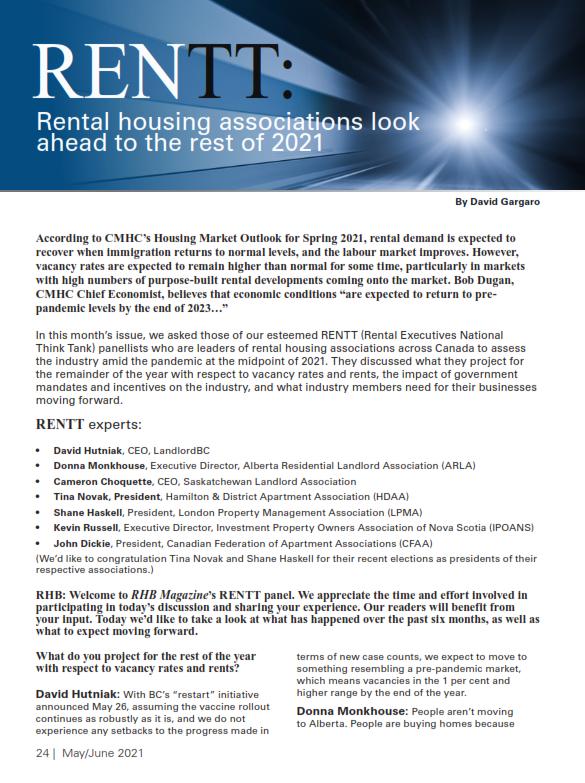 Rental Housing Associations RENTT