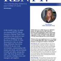 Rental Housing Market Post-COVID-19