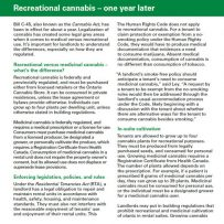 Recreational Cannabis
