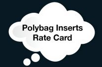 Polybag Inserts Rate Card
