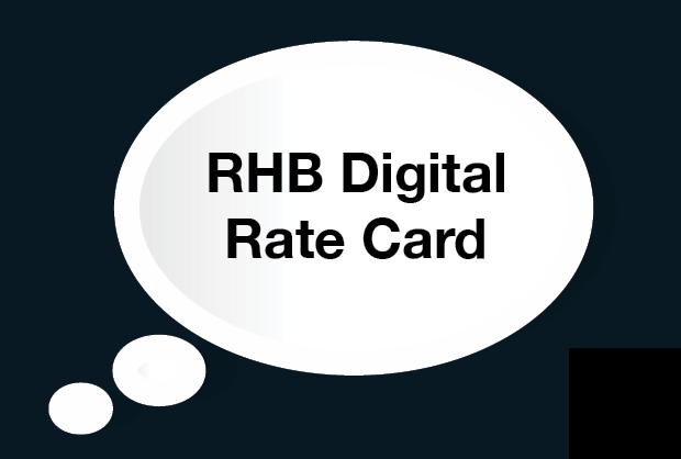 RHB Digital Rate Card