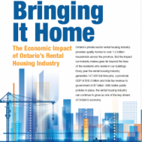 KPMG STUDY: Ontario's Apartment Industry contributes $18.3 Billion to the economy