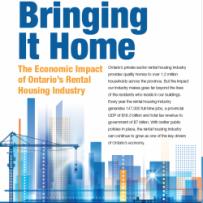 KPMG STUDY: Ontario's Apartment Industry contributes $18.3 Billion to the economy