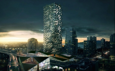 The ambitious design of Vancouver House, which is likened to a 52-storey sculpture, is a product of necessity. Photo: SCMP Pictures