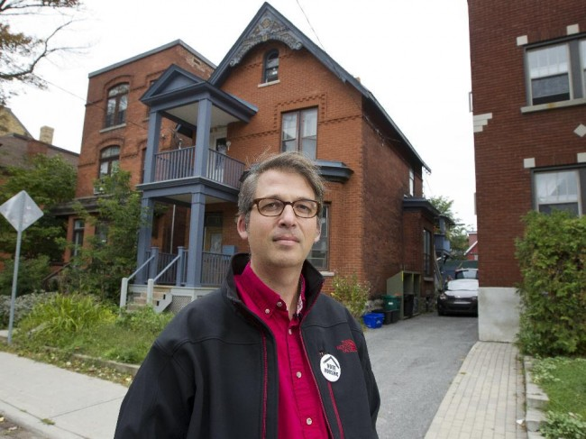 Ray Sullivan, executive director of Centretown Citizens Ottawa Corporation, said the city and others could make it easier to create more affordable housing. Picture by: Pat McGrath / Ottawa Citizen