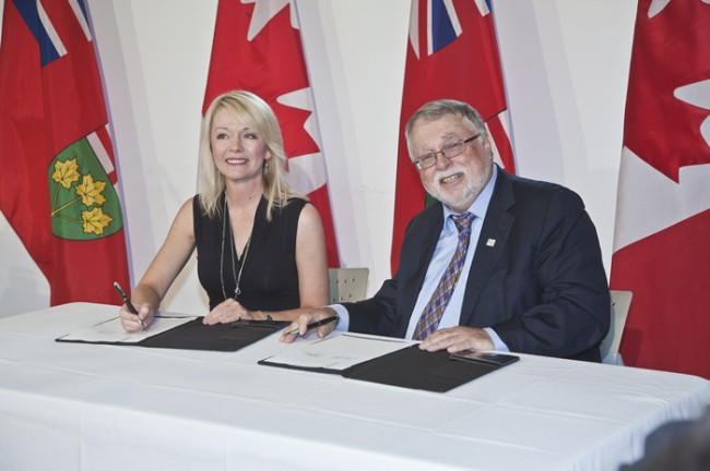 Together, the Governments of Canada and Ontario announced an additional combined investment of more than $801 million over five years, to help more individuals and families in housing need. The funding will be delivered through an extension to the Investment in Affordable Housing (IAH) agreement.