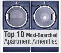 Top 10 Most-Searched Apartment Amenities