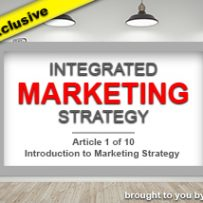 Introduction to Marketing Strategy
