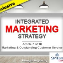 Marketing & Outstanding Customer Service