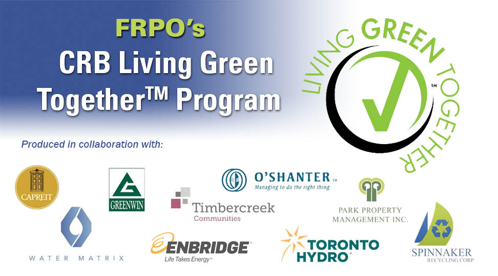 EP10: FRPO's CRB Living GREEN Together™ Program