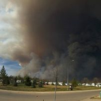 Fort McMurray landlords monitor fire from afar