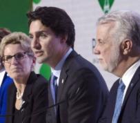 Trudeau secures national climate plan despite opposition from Saskatchewan, Manitoba