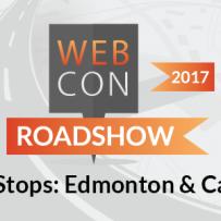 WEBCON Roadshow Coming to Calgary & Edmonton