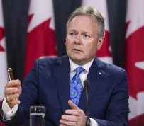 Poloz Says Bank of Canada Will Proceed 'Cautiously ' on Rates