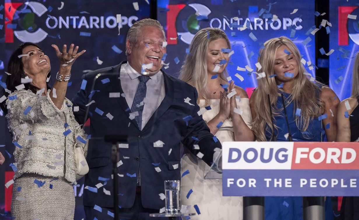 'Open for business': Doug Ford's Conservatives win Ontario election
