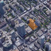 Low-Rise Infill Proposed Next to Rental Tower on Isabella Street