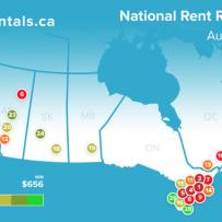 Rentals.ca August 2018 Rent Report