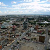 Calgary has more cranes than New York