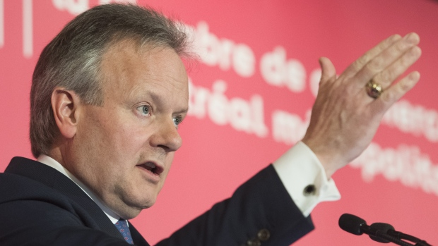 Bank of Canada's Poloz says rate hike path 'highly uncertain'