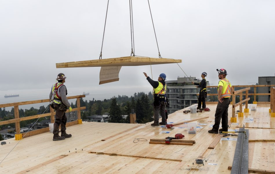 B.C. Building Code Adjusted Upwards To Allow 12 Storey Wood Buildings