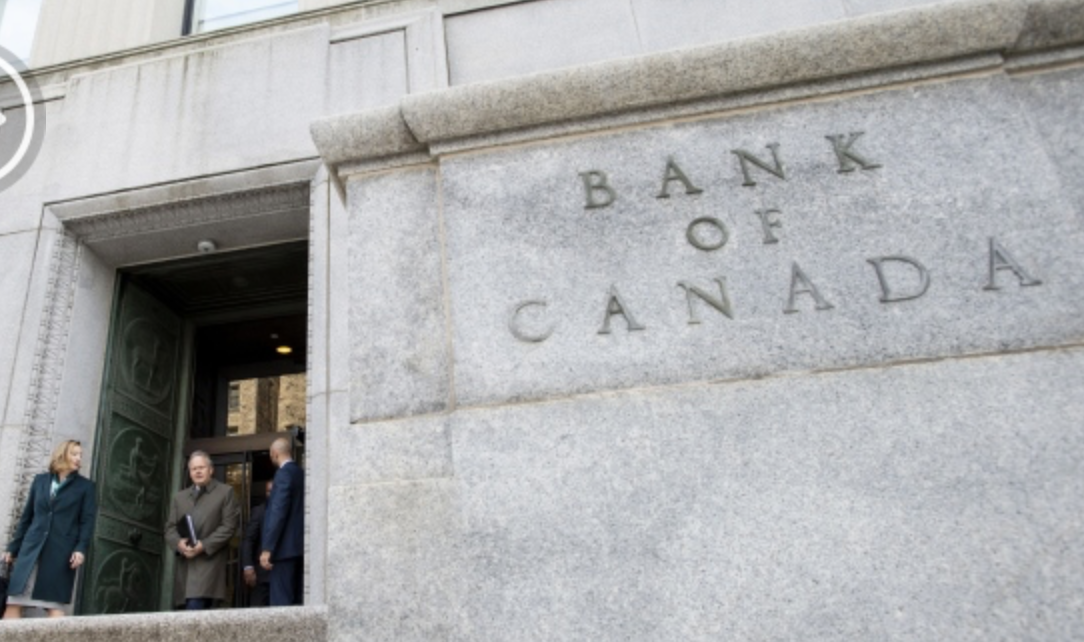 Bank of Canada abandons rate-hike bias amid economic slowdown