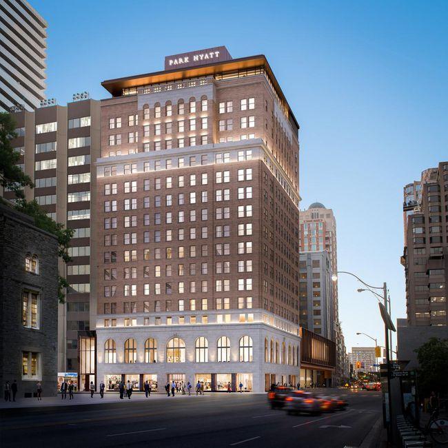 Park Hyatt makeover includes revamped rooftop bar, luxury rental apartments