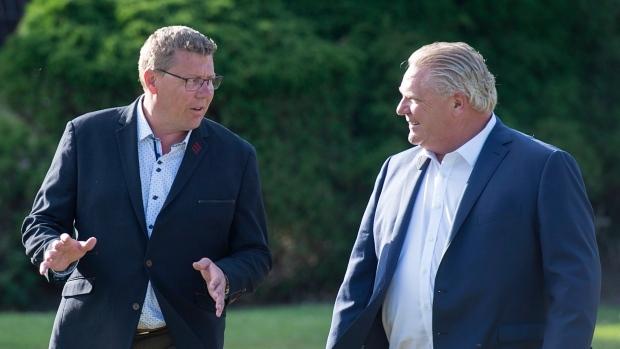 Ontario and Saskatchewan premiers meeting today in Toronto