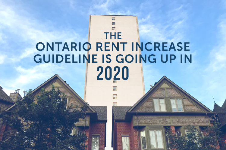 Rent increase guideline for 2020