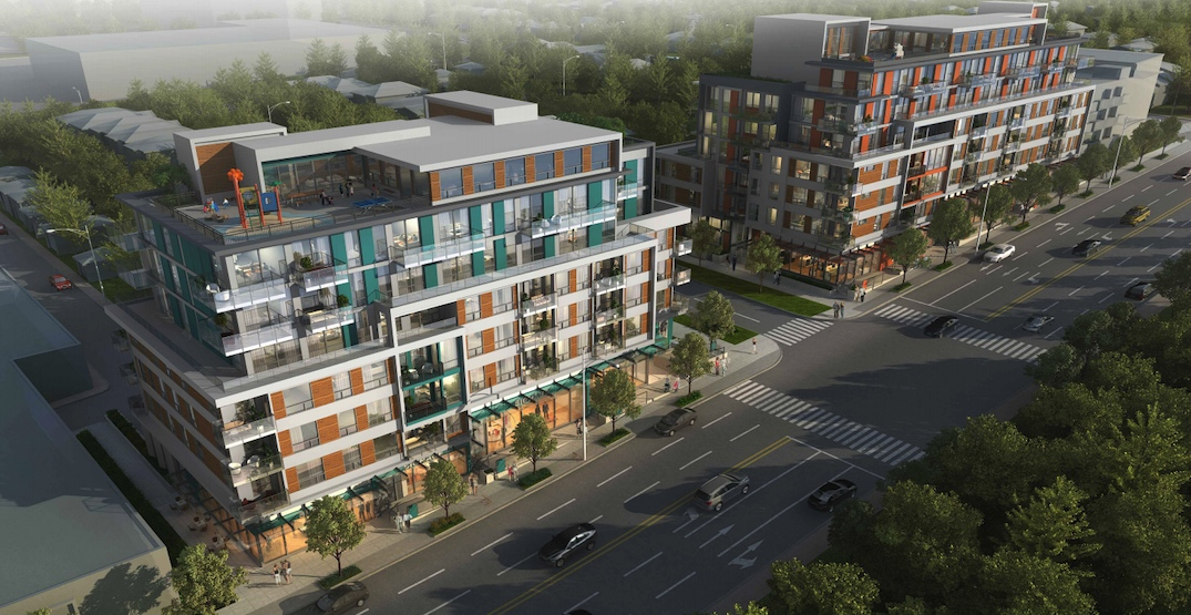 NEW RENDERINGS OF VANCOUVER'S FIRST MODERATE-INCOME RENTAL HOUSING PROJECT