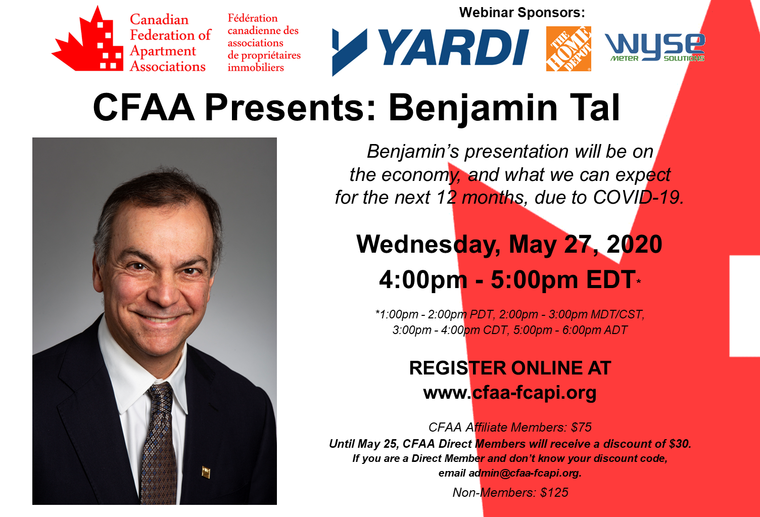 CFAA PRESENTS: BENJAMIN TAL