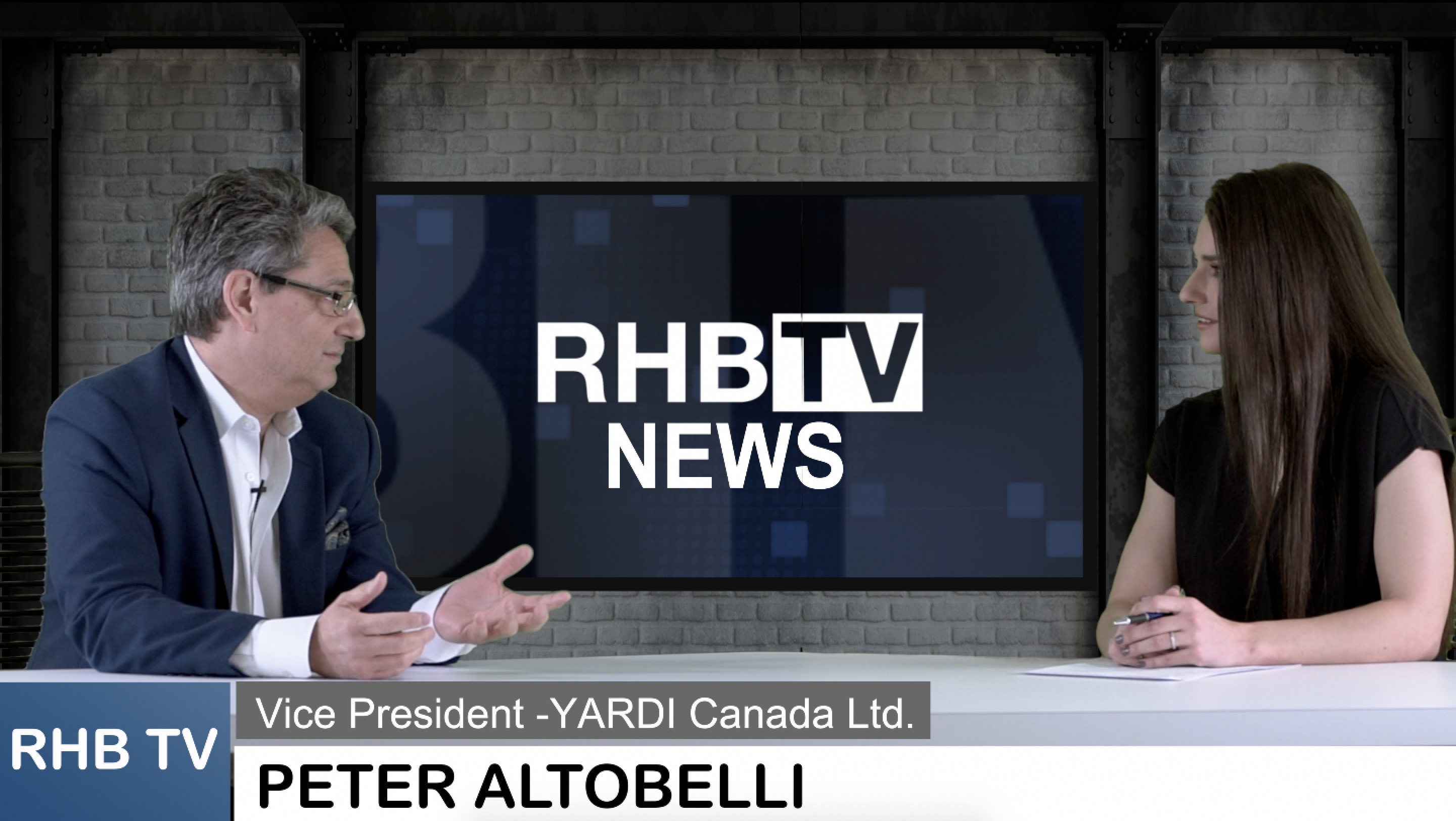 RHB TV – INTERVIEW WITH PETER ALTOBELLI OF YARDI CANADA AND PROVINCIAL REOPENING PLANS