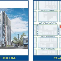 PROPOSAL FOR TALLEST TOWER ON WEST BROADWAY WILL BE VANCOUVER COUNCIL'S NEXT BIG VOTE