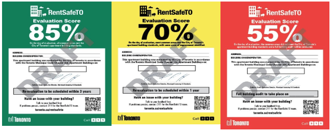 RENTSAFETO COLOUR-CODED SIGNS REJECTED