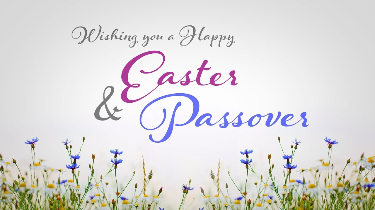 HAPPY EASTER AND PASSOVER FROM RHB!
