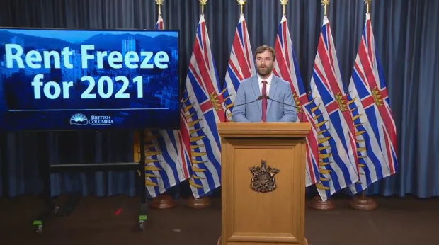 NO RENTAL SUBSIDY, BUT RENT FREEZE CONTINUES IN B.C.